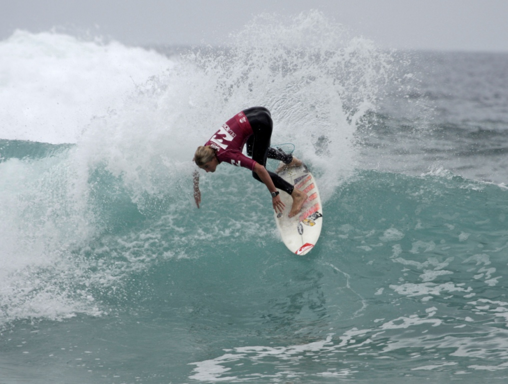 Beyrick de Vries (Umhlanga) won the Pro Junior men's event at the Billabong Junior Series in Herold's Bay - Photo: Moonrocket / Billabong