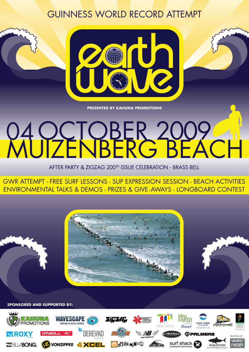2009 Earthwave South Africa Poster