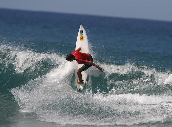Pictured: Multiple SA Grandmasters champion David Malherbe (Border) in action. Photo courtesy Surfing South Africa