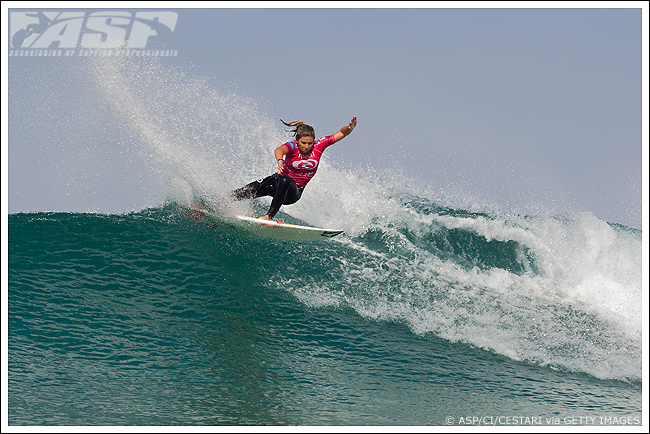 Pictured: Coco Ho (HAW), 18, claimed her inaugural ASP Womens World Tour victory today, defeating Chelsea Hedges (AUS), 26, to take the Rip Curl Womens Pro Search.Pictured: Coco Ho (HAW), 18, claimed her inaugural ASP Womens World Tour victory today, defeating Chelsea Hedges (AUS), 26, to take the Rip Curl Womens Pro Search.