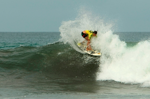 Pictured: Nikita Robb in action in Costa Rica earlier this year. Photo: Sanchez / ISA