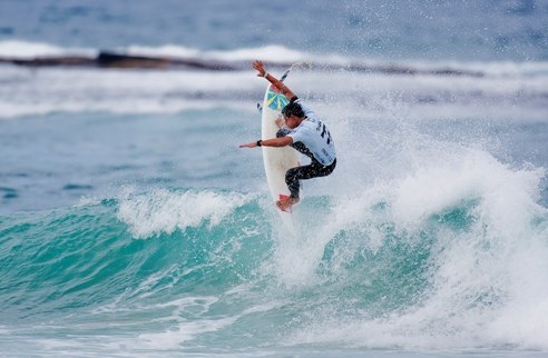 Maxime Huscenot (REU), 17, your new ASP World Junior Champion! Credit: © ASP / SCHOLTZ