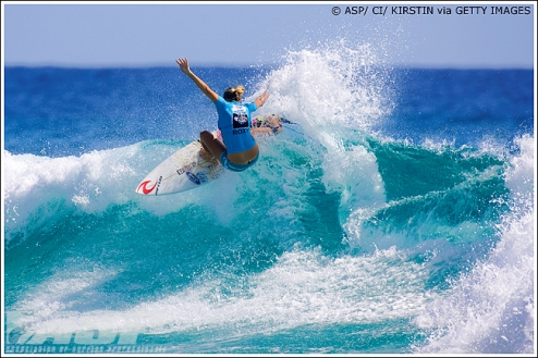 Stephanie Gilmore (AUS), 22, reigning three-time ASP Women's World Champion