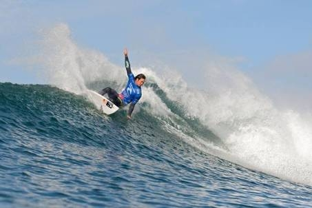Pictured: Jordy Smith (Durban, ZAF), 22, in action during the 2009 Rip Curl Bells Beach Pro where he finished third after losing to eventual winner Joel Parkinson (AUS) in the semifinals. Credit: © ASP / CESTARI