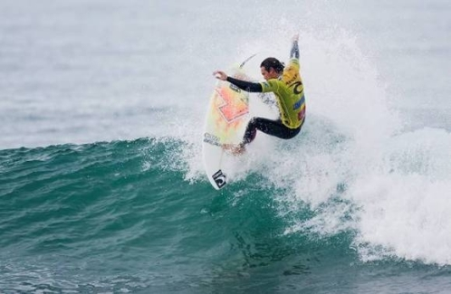 Pictured: Jordy Smith (Durban) displays the progressive surfing that earned him fifth place in the Rip Curl Pro Bells Beach and the No. 3 spot on the 2010 ASP World Tour rankings. Credit: © ASP / KIRSTIN