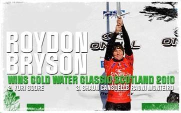 Royden Bryson wins Scotland O'Neill