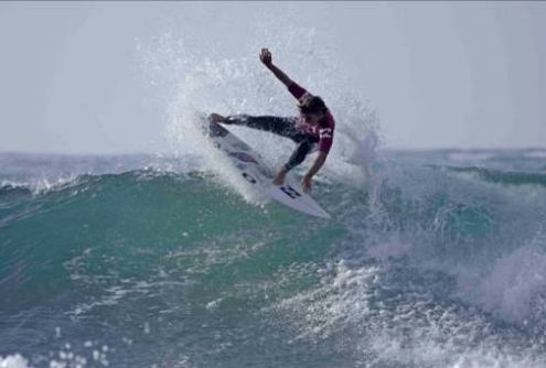 Pictured: Billabongs Shaun Joubert (Mossel Bay) is one of the top contenders for the Pro Junior mens title in the Billabong Junior Series Photo courtesy Billabong