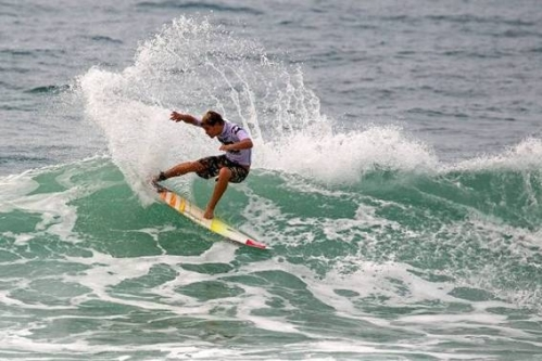 Pictured: Durban standout David van Zyl will represent South Africa as a member of the Junior Invitation team that visits Reunion Island in October Photo: Patterson / Billabong