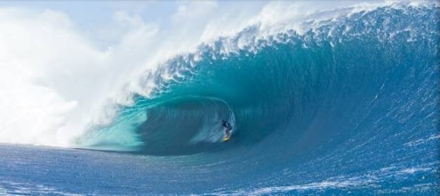 Pictured: Tahitian Manoa Drollet in action at  Teahupoo, Tahiti, where  South Africas Dale Staple will face Surfings ultimate challenge in the Air Tahiti Nui VonZipper Trials Photo: Stacey / Billabong