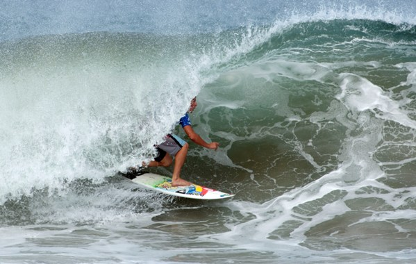Diran Zakarian  was one of South Africa's top performers at the 2013 DAKINE ISA World Junior Surfing Championships, finishing equal 11th in the U18 Boys division of the event which ended in Nicaragua on Sunday  Photo: ISA / Rommel Gonzales