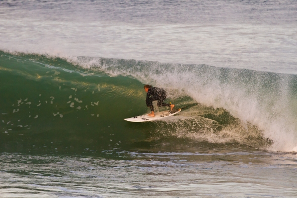Matt McGillivray, the 2012 Hurley SA Junior Champs 'Surfer of the Contest', will be using his local knowledge to challenge for the U17 Boys title at the 2013 event which runs from 25-29 September in Jeffreys Bay  Photo: @ROYHARLEY