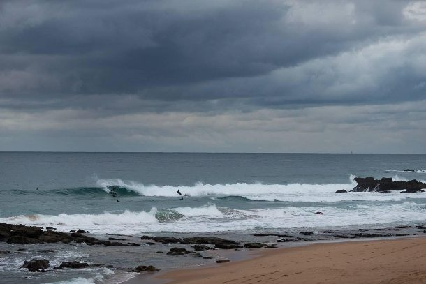 Organisers elected to continue running the Ballito Pro at Bather's Beach on Tuesday  Photo: WSL / Ballito Pro / Cestari