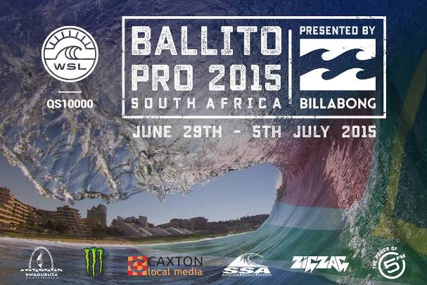 Poster - 2015 Ballito Pro presented by Billabong - 600
