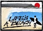 Lifes a Beach logo - 150