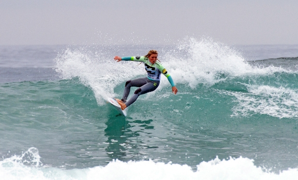 Sophie Bell (eThekweni) will be defending her Under 15 girl's title at the Billabong SA Junior Champs presented by BOS at Jeffreys Bay  Photo: Ian Thurtell