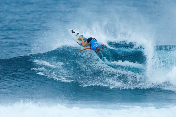 Bianca Buitendag (Victoria Bay, ZAF) on her way to the quarterfinals of the Drug Aware Margaret River Pro in Australia  Image: WSL / Cestari