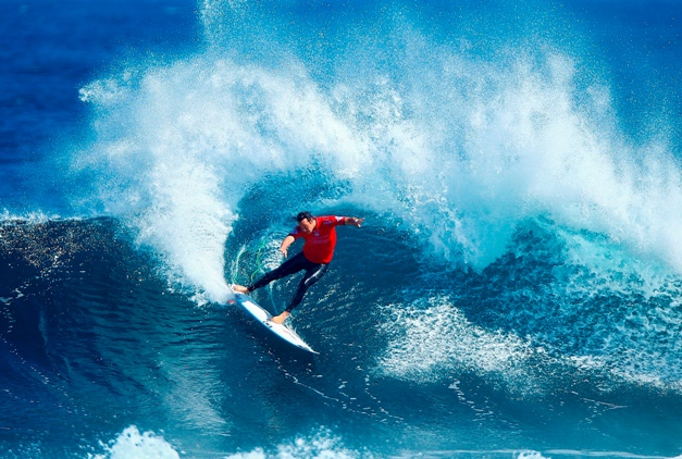 Jordy Smith is the top seed for the 2016 Ballito Pro that runs from 27 June to 3 July at Willard Beach in KwaDukuzaPhoto: WSL / Sloane