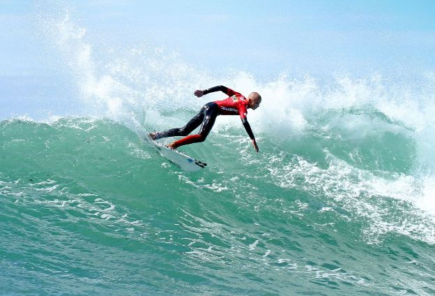 Reigning Billabong Junior Series U16 Boys' champion Max Elkington (Kommetjie) heads the lineup for the opening event of the 2017 series in Port Elizabeth this weekend  Photo: Billabong / Thurtell