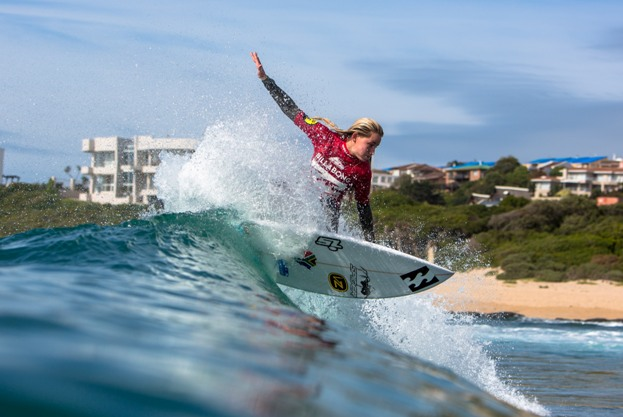 Kirsty McGillivray (Nelson Mandela Bay) will be going for gold in the U18 girls' division at the Billabong SA Junior Champs presented by BOS at Jeffreys Bay this week Photo: Ian Thurtell